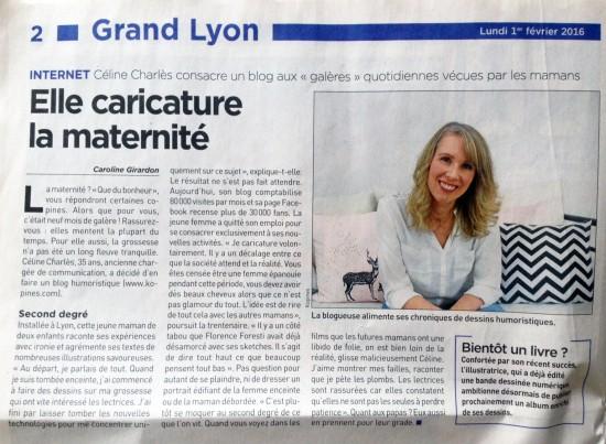 article Céline Charlès 20 minutes