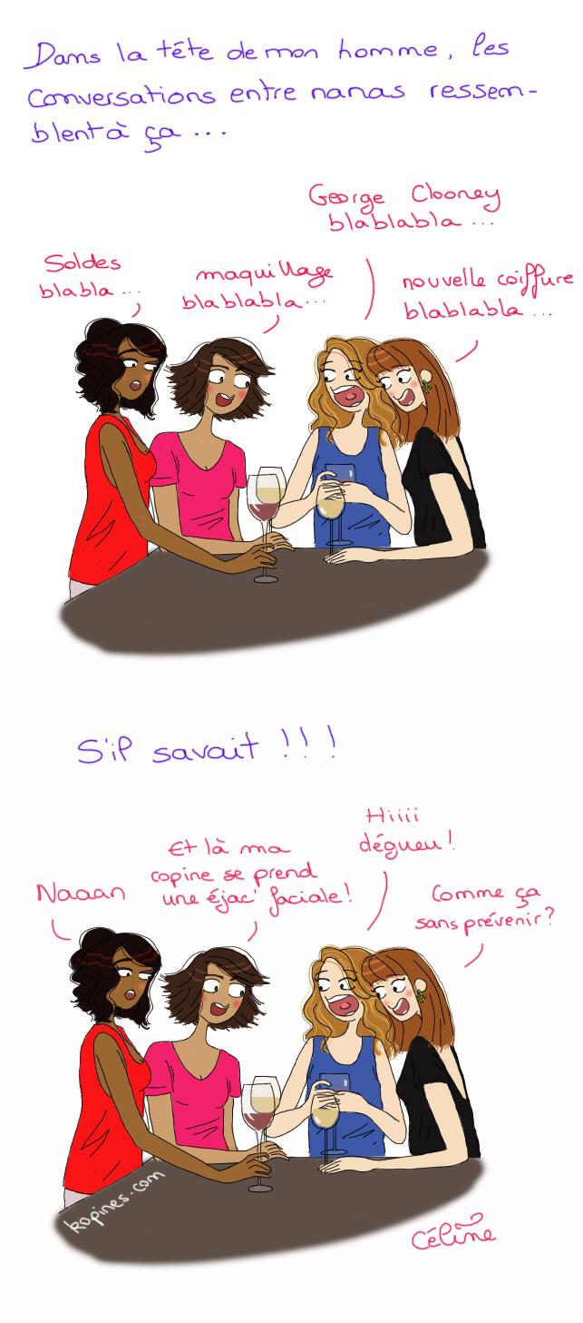 De quoi parlent les filles