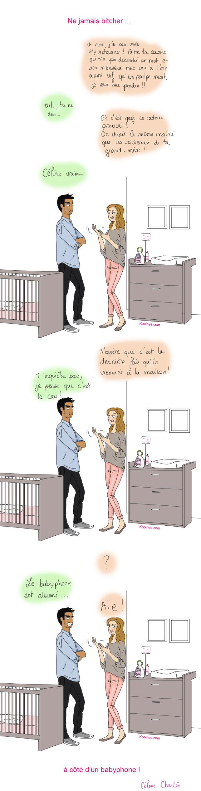 babyphone chambre bébé