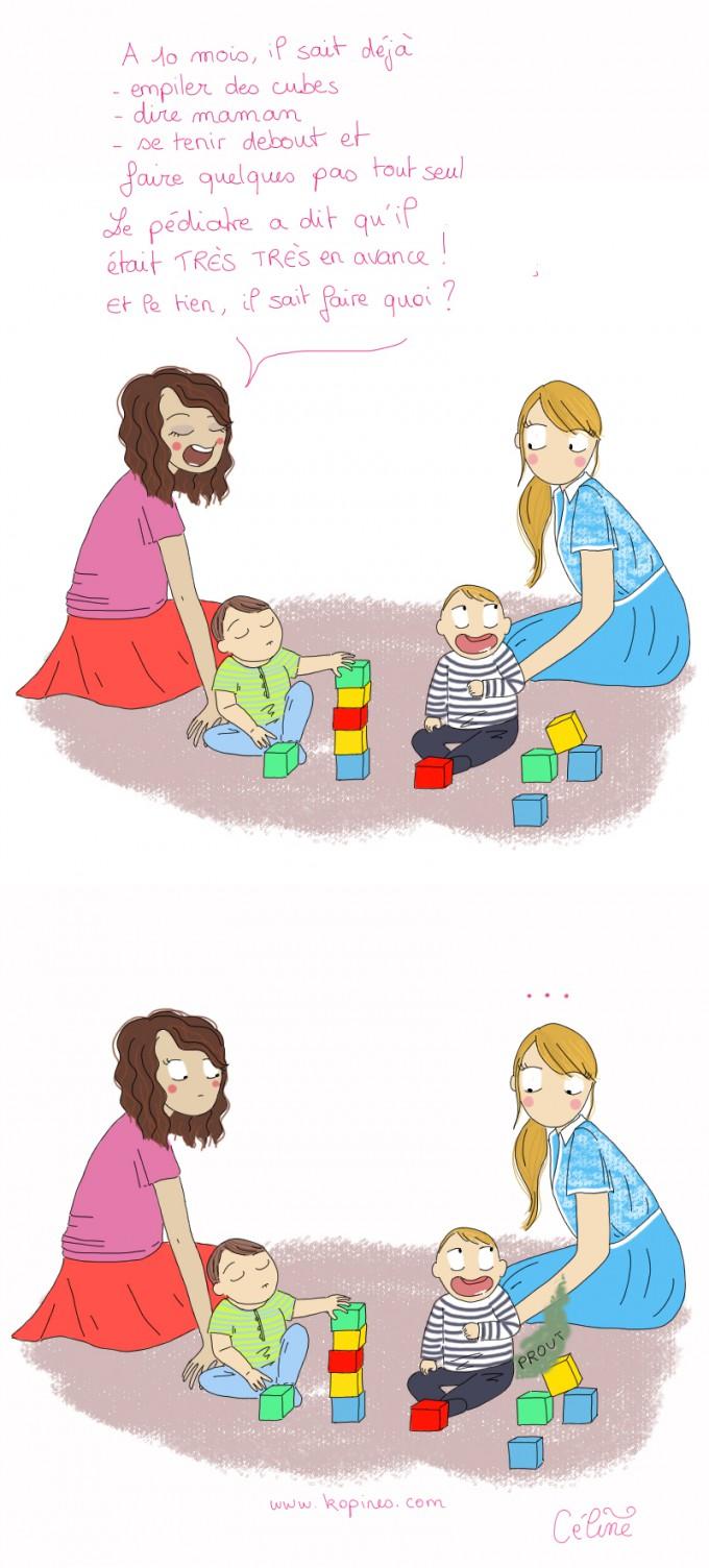 mamans qui jouent avec enfants