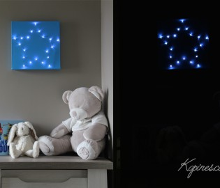 tableau lumineux étoile led