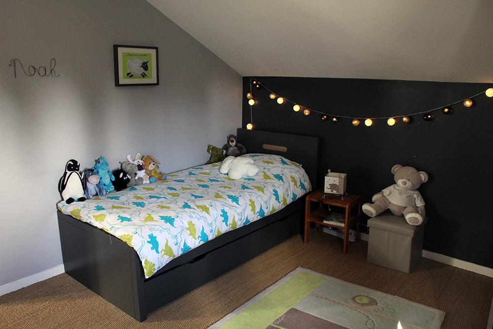 Chambre grise et verte ~ Solutions pour la décoration intérieure ...