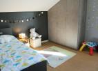 chambre grise et verte de noah