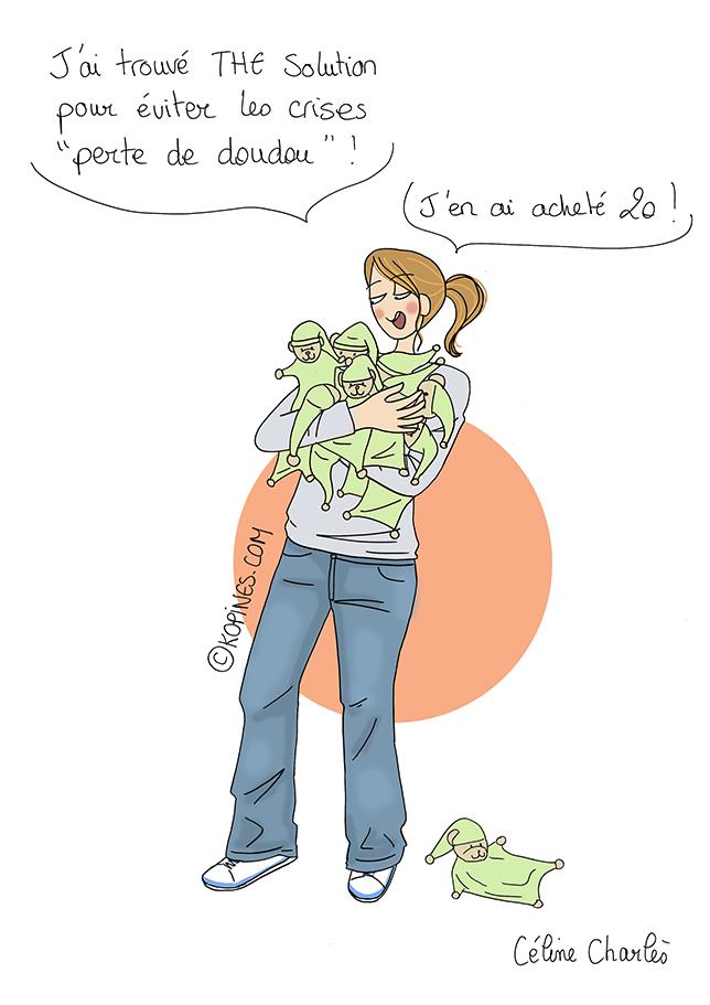 Le doudou par Céline Charlès