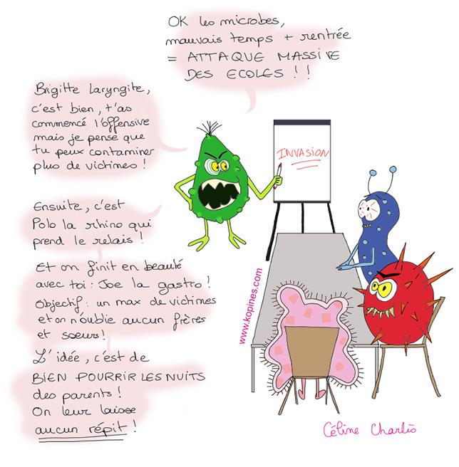 réunion de microbes