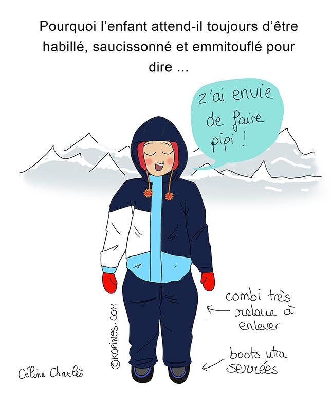 enfant montagne - Céline Charlès