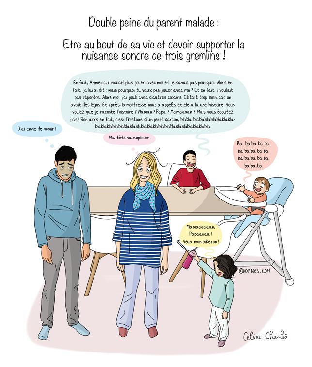 parent malade