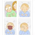 Séance photomaton pour bébé