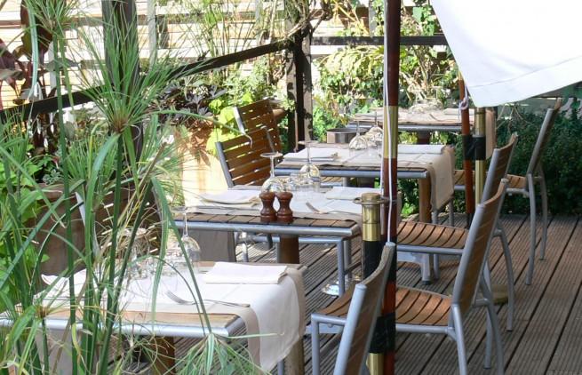 Restaurant la baleine paris au coeur du jardin des plantes for Resto paris terrasse jardin