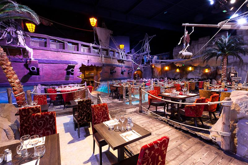 Restaurant pirates paradise à montpellier pour les enfants