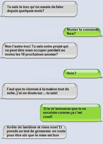 Annonce par SMS