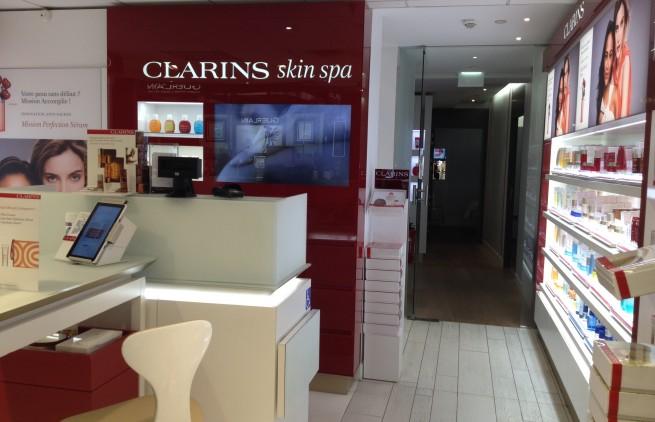 Spa clarins printemps lyon avis et tarif par kopines for Clarins salon