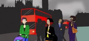 Maman à Londres