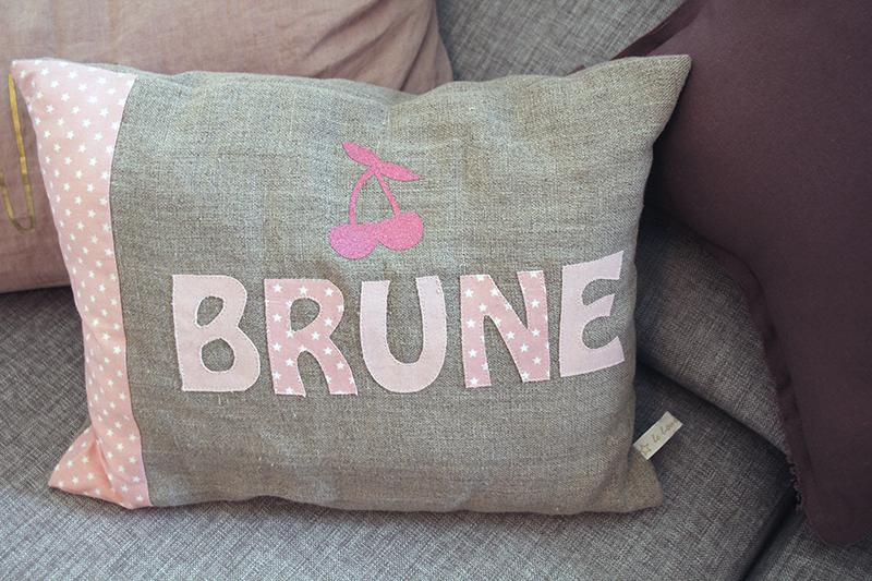 Coussin Brune BARALINGE