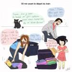 Le départ en vacances … avec enfants