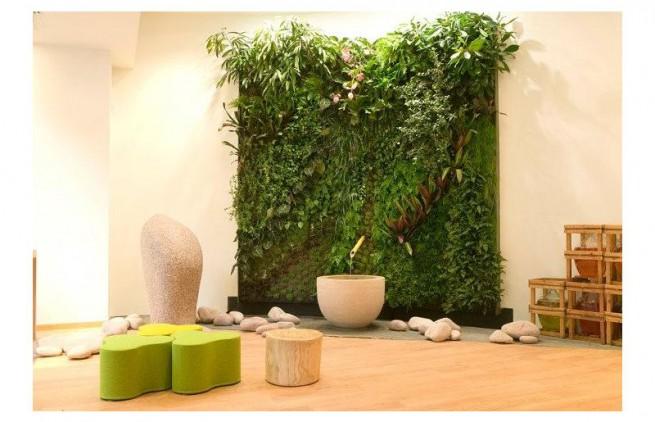 mur vegetal institut weleda