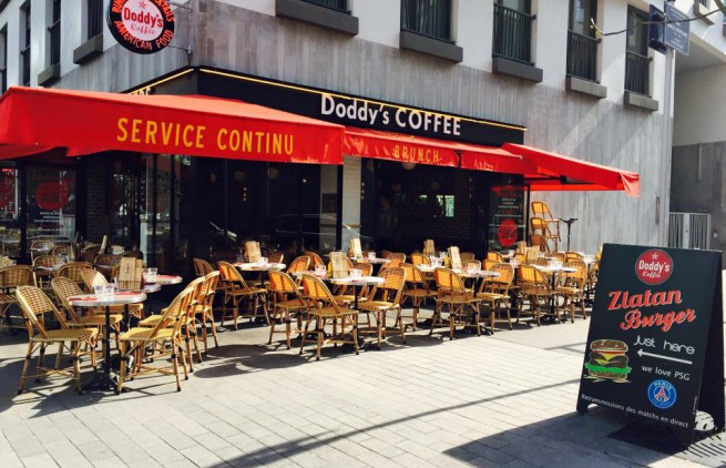 terrasse du doddy's coffee