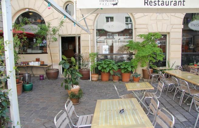 terrasse du restaurant the studio