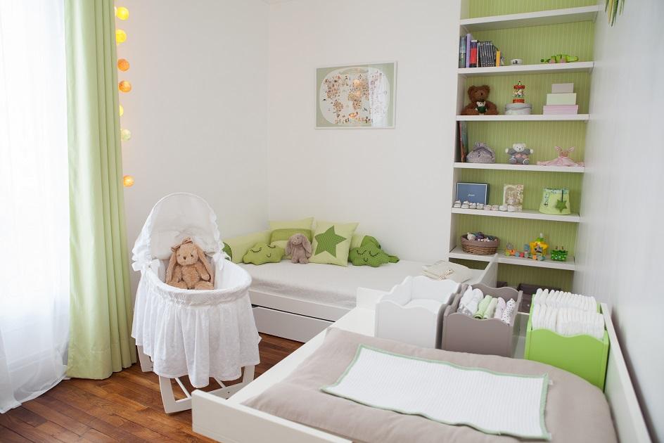 Inspiration d co pour une chambre mixte de b b - Decoration chambre de bebe mixte ...